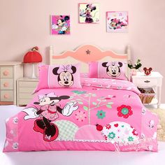 lovely pink bowknot minnie mouse baby bedding minnie mouse bed