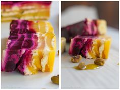 """Beet Terrine with Olivari Olive Oil recipe, beautiful, easy and delicious.  Great for the family or a dinner party!  You will make them say """"WOW"""" with this dish!  #beets #sidedish #vegetarian #healthy #dinnerparty #terrine #goatcheese"""