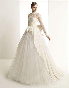 Vestido de novia corte princesa | bodatotal.com | wedding ideas, ideas para tu boda, princess cut, wedding dress, bride