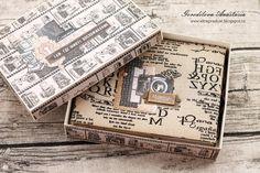 """Всем привет! А я сегодня с альбомом, который сделала из замечательной коллекции бумаги от Scrapberry's """"Фотоархив"""". Вот такой комплект: ..."""