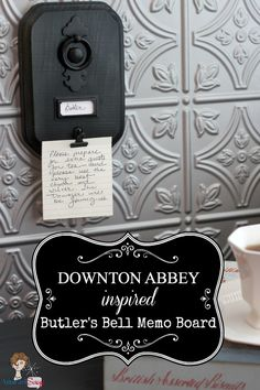 Downton Abbey Craft Roundup, WANT