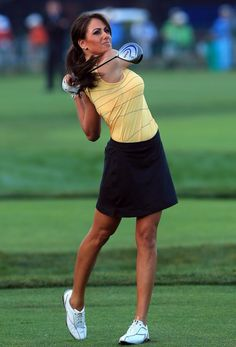 Holly Sanders competed as an amateur at the 2014 #HumanaChallenge.