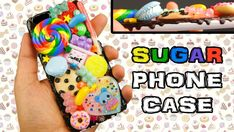 Diy easy phone case watches New Ideas Candy Phone Cases, Diy Phone Case, Diy Fashion Show, Craft Websites, Diy Makeup Storage, New Inventions, Diy Crafts To Sell, Easy Crafts, Decoden