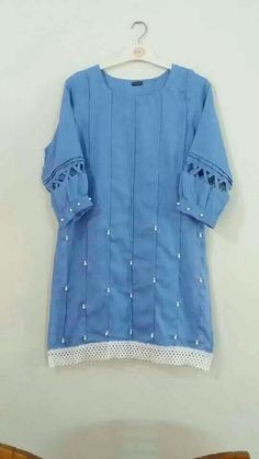Fashion kids casual clothes Ideas for 2019 Simple Pakistani Dresses, Pakistani Fashion Casual, Pakistani Dress Design, Kurti Designs Party Wear, Salwar Designs, Blouse Designs, Girls Dresses Sewing, Stylish Dresses For Girls, Kurti Sleeves Design