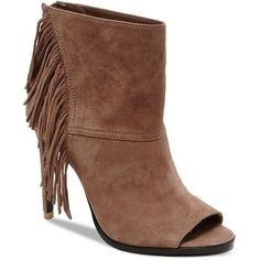 65735c674 Dolce Vita Hanover Fringe Open Toe High-Heel Booties Shoes - All Shoes -  Bloomingdale's
