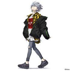 Neon Genesis Evangelion, Killua, Art Manga, Anime Art, Manga Girl, Evangelion Kaworu, Character Art, Character Design, Zoldyck