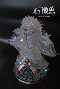 Naruto 55CM Namikaze Minato Dead Demon Consuming Seal Battle Resin Statue New 2