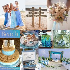 I think I like the beach theme better for an engagement party. Love the blue and teal colors