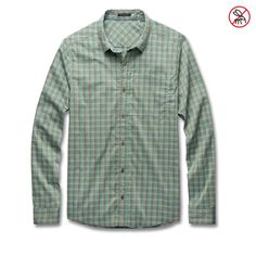 Toad&Co Men's M Debug Upf Stretch Shirt ~ Toad&Co