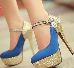 These cute heels are crazy be-you-tiful