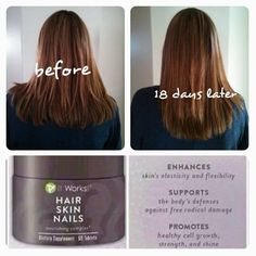 Hair, Skin & Nails is one of our newer products and is simply AMAZING!