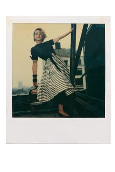 Trove of Polaroids Taken of Madonna in 1983 Offered for Sale