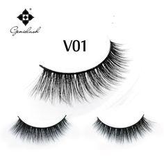 3 D Multicouche Bande Faux Cils Volume Naturel Épais Croix Cils Extension Maquillage Longue Faux Cils