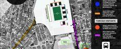 Clássico: saiba como chegar e o acesso das torcidas à Arena Botafogo