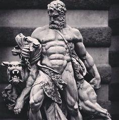 Ancient Statues Greek Gods - Female Statues Aesthetic - Poseidon Statues Aesthetic - - Statues Of Liberty Skull Ancient Greek Sculpture, Greek Statues, Ancient Art, Statue Tattoo, Roman Sculpture, Sculpture Art, Hercules Tattoo, Hades Tattoo, Greek Mythology Tattoos