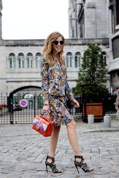 Paris fashionweek wearing Kenzo
