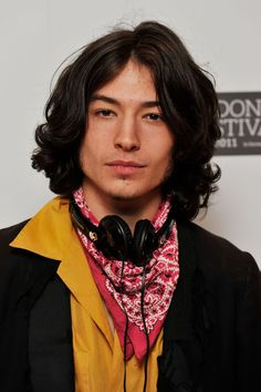 "Ezra Miller Photos - Actor Ezra Miller poses at the ""We Need To Talk About Kevin"" photocall during the BFI London Film Festival at Vue West End on October 2011 in London, England. - We Need To Talk About Kevin - BFI London Film Festival"