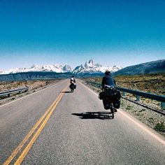 @cycleearth   stunning shot of Mount Fitz Roy in Argentina. @cycleearth is cycling the globe  Use #worldbybike to be featured!