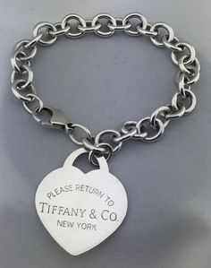 25693e005 Tiffany & Co Heart Tag Women's Bracelet 8