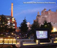 Slab Cinema and the Pearl Brewery
