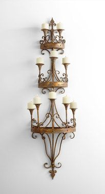 Candle Holders | Westenor Iron Wall Candle Holder