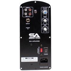 SA-APLW80 - 60 Watt Class AB Plate Amplifier for PA/DJ Loudspeaker Cabinets