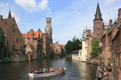 Bruge, Belgium - this is one of the most beautiful and most enchanting cities I've ever been to - loved it!