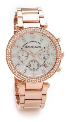 Michael Kors Parker Watch (rose gold)
