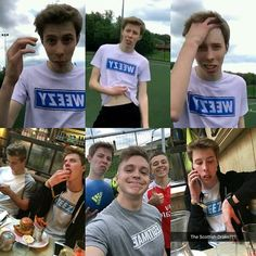 Weezy and Chris football vids together is gonna be so lit #calfreezy #joeweller #chrismd