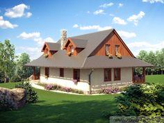 Relax 2 - chalupy, roubenky, dřevostavby na klíč | KODEX REALITY s.r.o. Home Fashion, Traditional House, Exterior Design, Townhouse, Cottage, House Design, House Styles, Relax, Building
