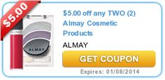 Printable coupons: Almay, Barilla, Glade, Tide, Herbal Essence, plus more!