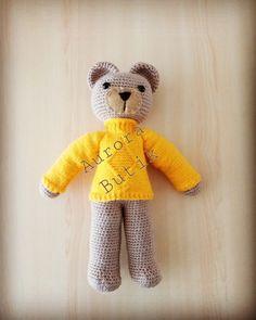 #amigurumi #örgüayıcık#handmade Teddy Bear, Toys, Handmade, Animals, Amigurumi, Hand Made, Animaux, Animales, Dieren