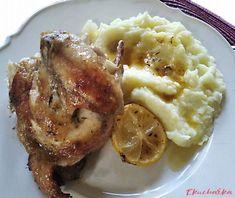 Kuře na citrónu s bramborovou kaší - eKucharka.cz