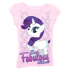 This is one of my favorites on totsy.com: Little Girls My Little Pony Im Fabulous Tee