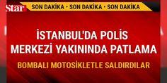 İstanbulda polis merkezi yakınında patlama : İstanbul Yenibosnada polis merkezi yakınında bombalı motosikletin patlatılması sonucu 10 kişi yaralandı.  http://ift.tt/2dhoIqY #Türkiye   #İstanbul #merkezi #yakıda #polis #sonucu
