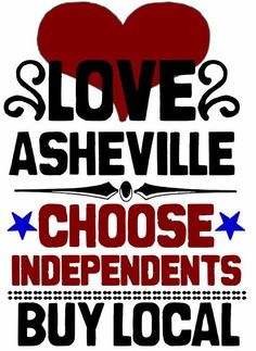 Keeping it local.  // Asheville Love :)