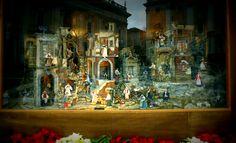 {Natale 2011 -Roma - Presepe all'esterno dei Musei Capitolini