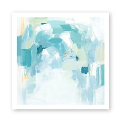 Abstract mixed media print on a smooth 100% acid free heavyweight fine art  paper.  Available in 10x10 and 12x12 sizes.