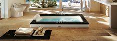 Jacuzzi - Kade i Kabine - salon Jacuzzi, Sunken Tub, Kabine, Shower Time, Corner Bathtub, Teak, Home Goods, Massage, House