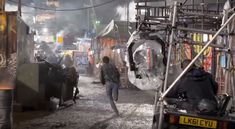 Following Parzival on the set of Ready Player One See more behind the scenes photos at The Bearded Trio