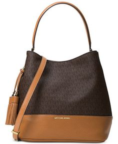 MICHAEL Michael Kors Kip Large Bucket Bag - Handbags \u0026 Accessories - Macy\u0027s