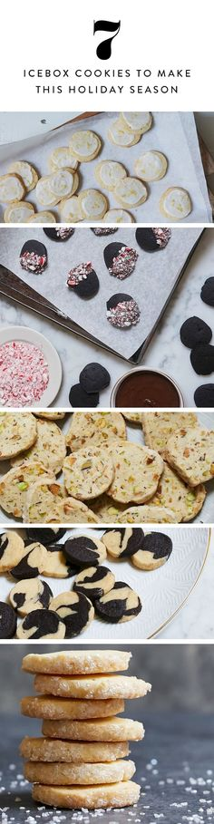 Easy Icebox Cookies That Will Make All Your Holiday Dreams Come True via @PureWow