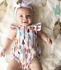 >> Click to Buy << 2017 0-24M Newborn Baby Girl Romper Fly Sleeve Clothes Cute Bebes Summer Outfit Sunsuit Colorful Print Jumpsuit  #Affiliate