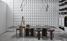 5 Simple Ideas to Improve Your Dining Room Design – Voyage Afield Dining Room Design, Interior Design Living Room, Dining Area, Dining Rooms, Italian Furniture, Modern Furniture, Furniture Design, Luxury Interior, Modern Interior