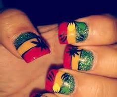 Weed leaf nail stickers decals and charms from shopstaywild rasta nails designs yahoo image search results prinsesfo Gallery
