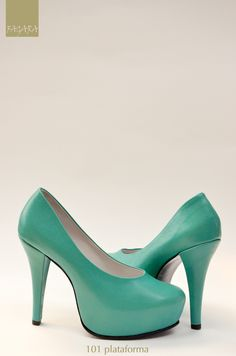 zapato 101 / 100% cuero - plataforma interna