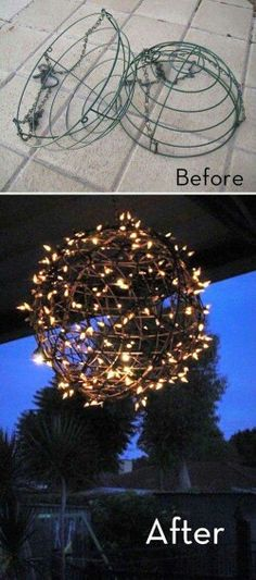 9 Stunning Ideas for Outdoor Globe String Lights | TGG • DIY Garden on