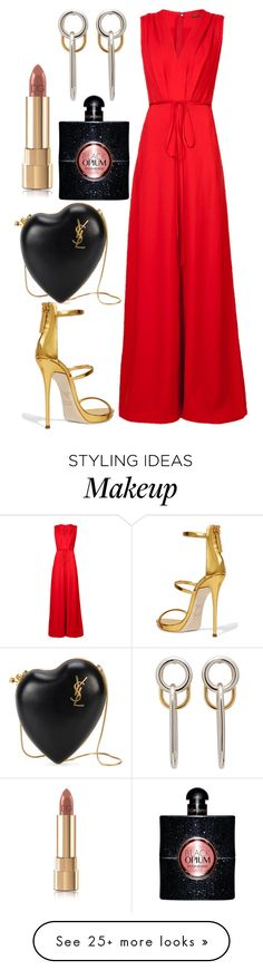 """""""Untitled #3949"""" by fcharese on Polyvore featuring ADAM, Alexander Wang, Giuseppe Zanotti, Yves Saint Laurent and Dolce&Gabbana"""