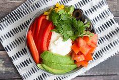 Low FODMAP Taco Bowl (Gluten-free, lactose-free, vegetarian)