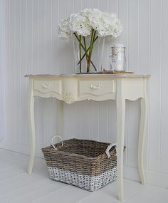 Cream Console Hall And Sofa Tables Available Online From The White  Lighthouse. Regency Cream Console